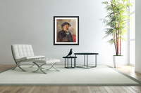 Self Portrait with Beret by Cezanne  Acrylic Print