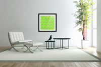 Hearts - Lime - Red  Acrylic Print
