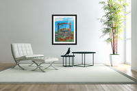 A lonely well  Acrylic Print