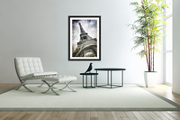 Modern-Art PARIS Eiffel Tower Splashes  Acrylic Print