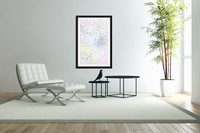 ABSTRACT PAINTING 40  Acrylic Print