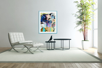 Invented Space Journey 1  Acrylic Print