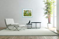Morning View from my Breakfast Table  Acrylic Print