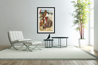 On guard in the time of the pharaons  Acrylic Print