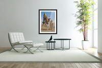 Riding the camel  Acrylic Print