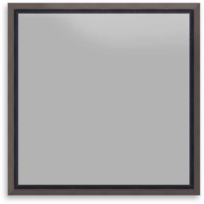 Floating Frame 1.5 inch Pewter Picture Frame - Canvas Decorating Frame