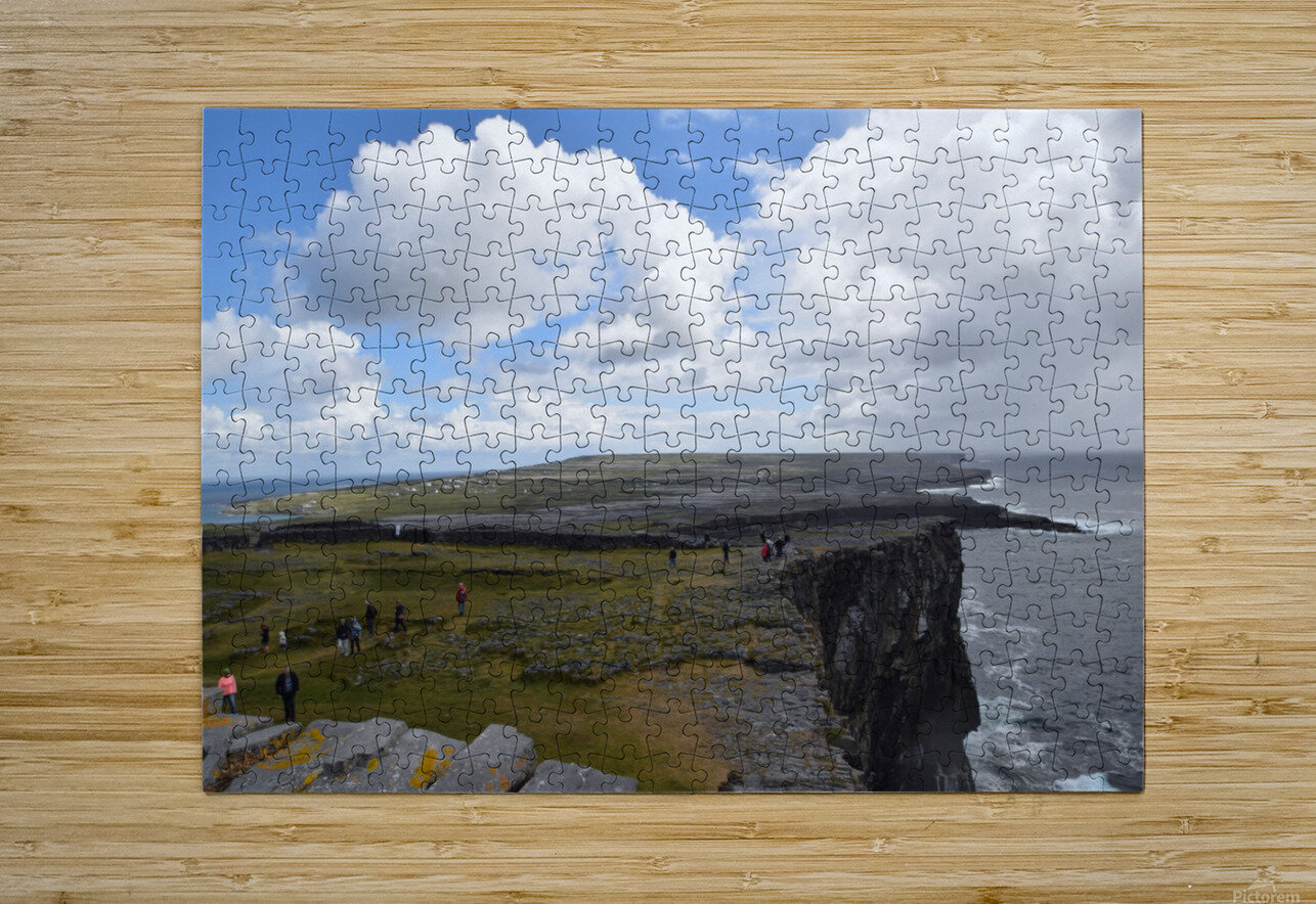 INIS MOR, THE ARAN ISLANDS  HD Metal print with Floating Frame on Back