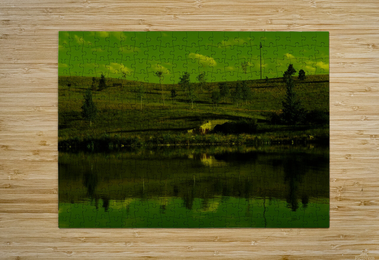 sofn-E0070B84  HD Metal print with Floating Frame on Back