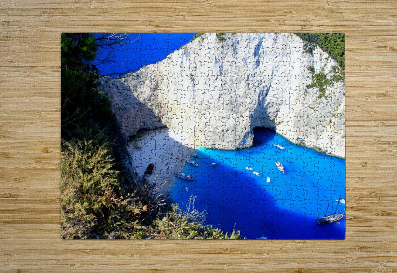 Z A K Y N T H O S - Greece  HD Metal print with Floating Frame on Back