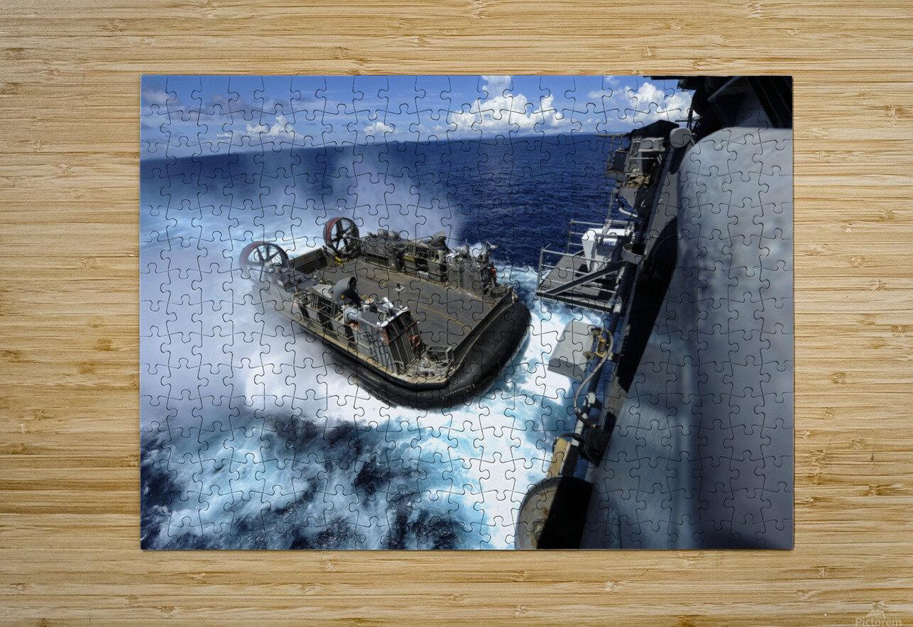 stk106309m  Impression métal HD avec cadre flottant sur le dos