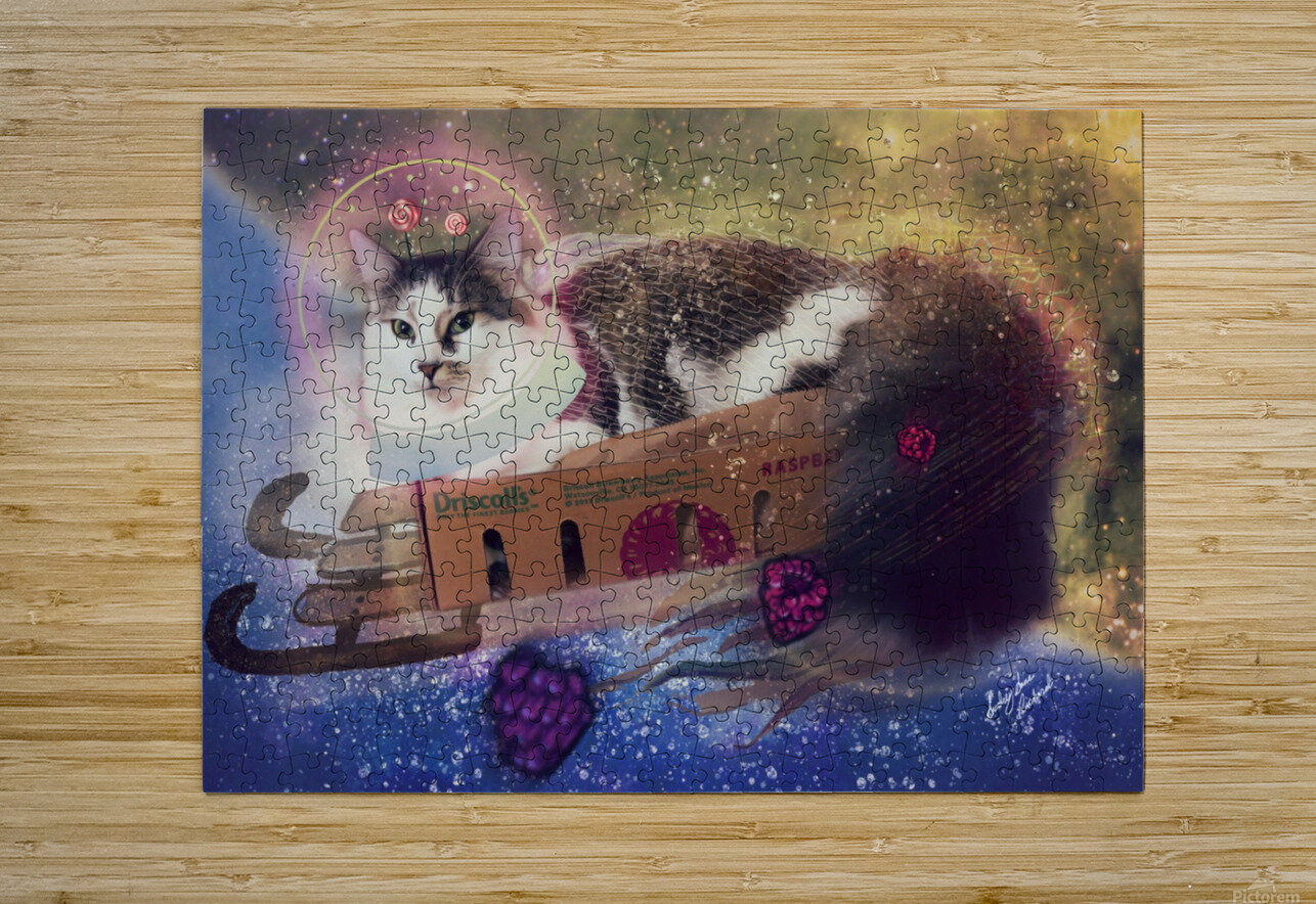 Bune  HD Metal print with Floating Frame on Back