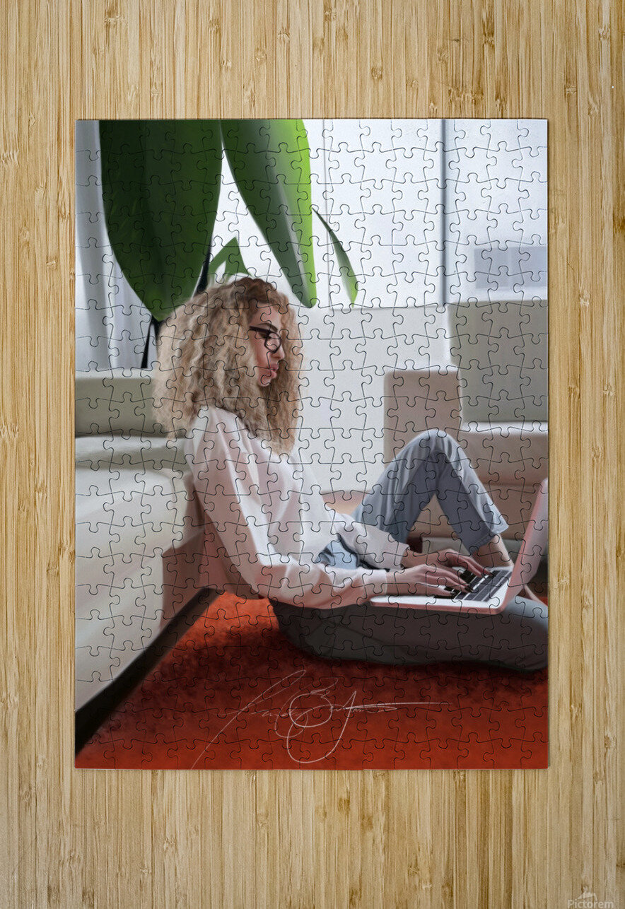 college dorm  HD Metal print with Floating Frame on Back