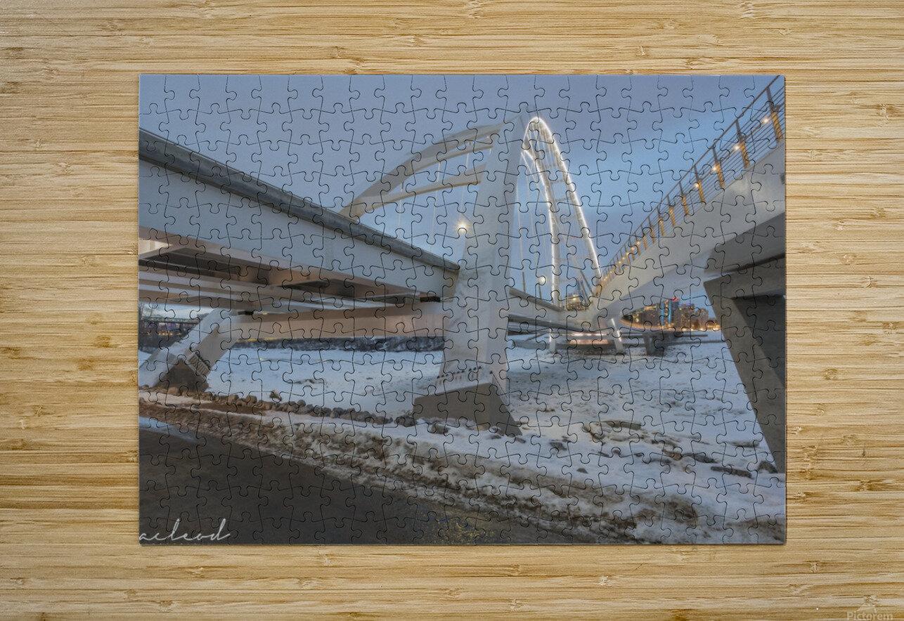 Walterdale_Bridge_NIK9885  HD Metal print with Floating Frame on Back