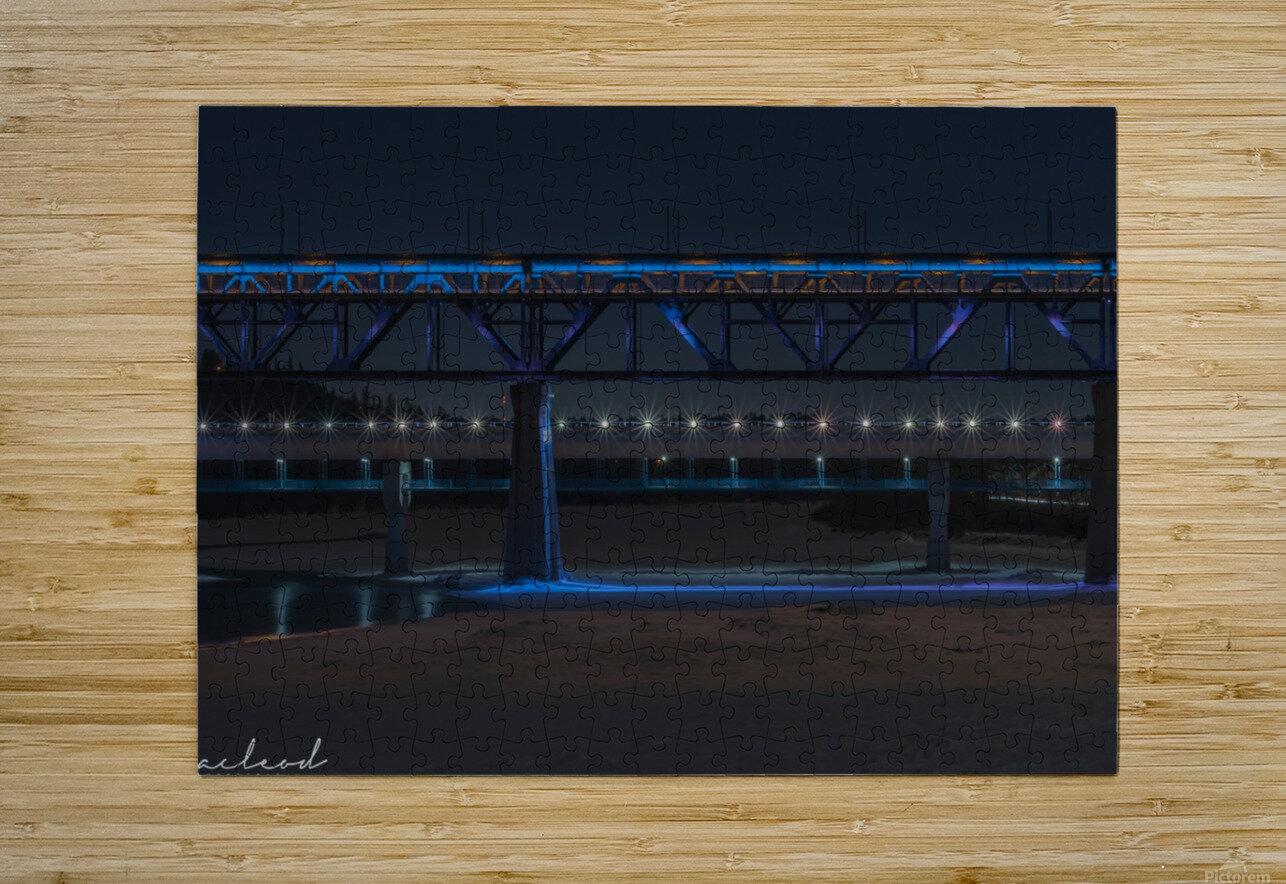 HighLevel_NIK9913  HD Metal print with Floating Frame on Back