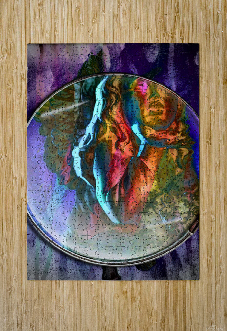 The Child Angel  HD Metal print with Floating Frame on Back