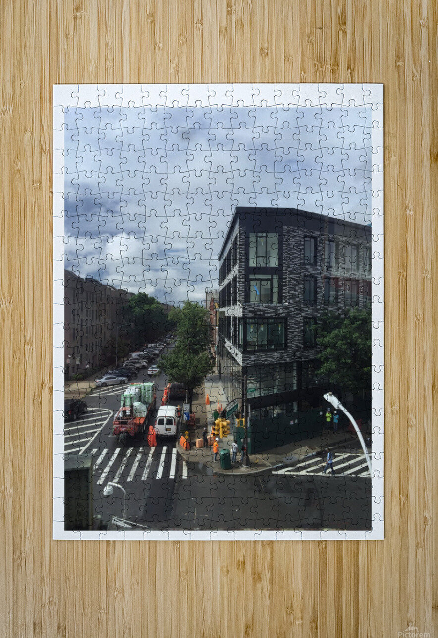 Rainy day  HD Metal print with Floating Frame on Back