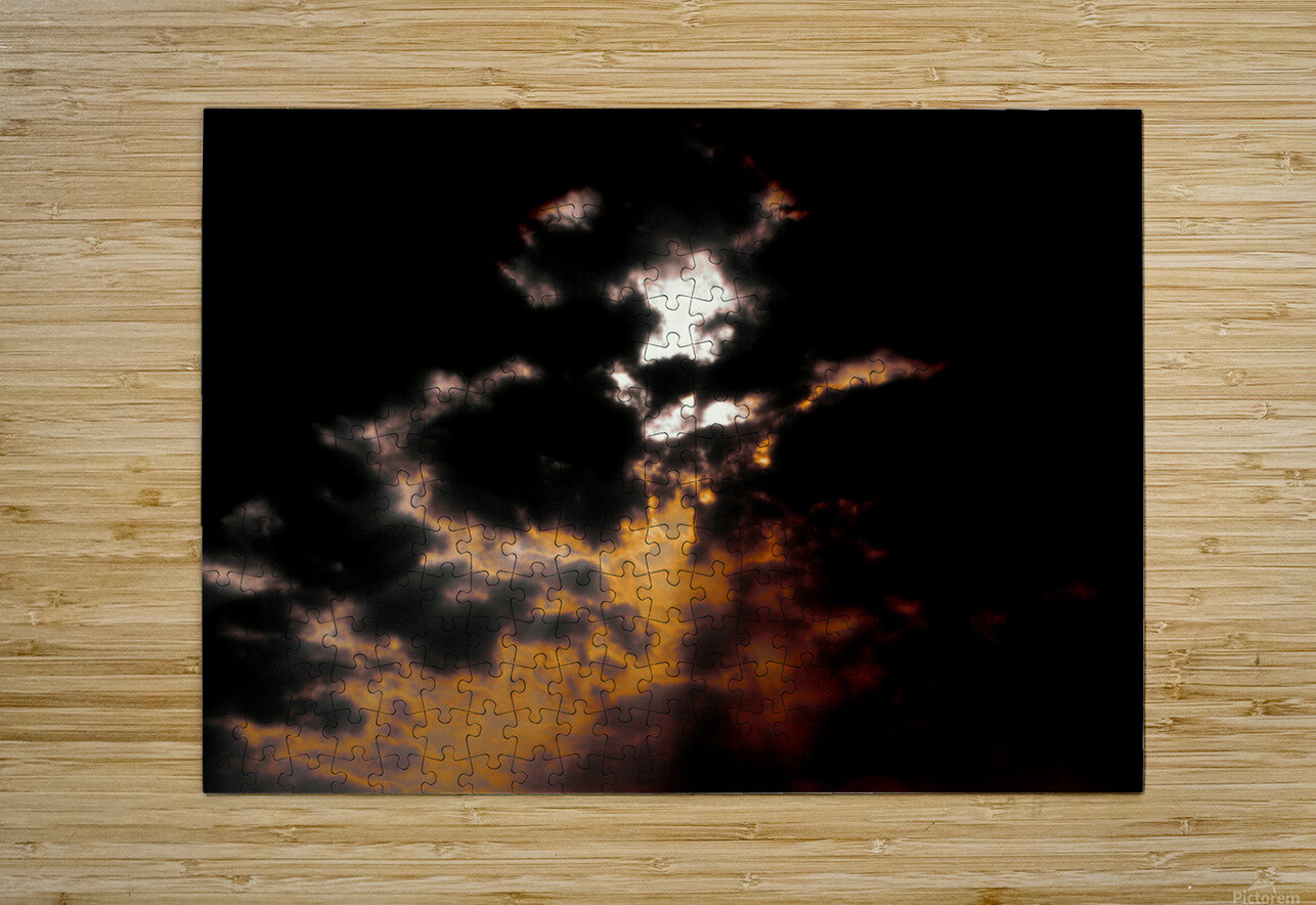 Sky Talk  HD Metal print with Floating Frame on Back