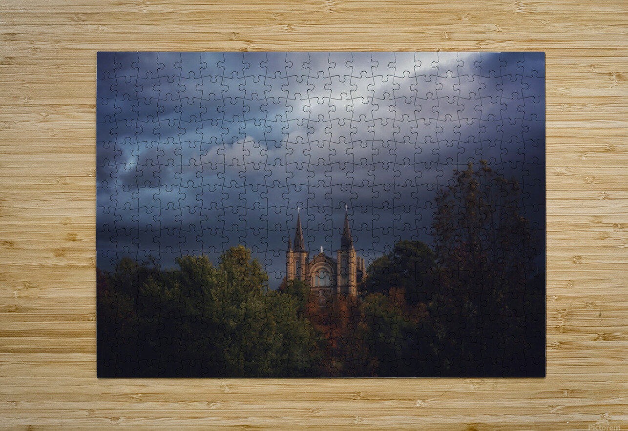 Divine Light  HD Metal print with Floating Frame on Back