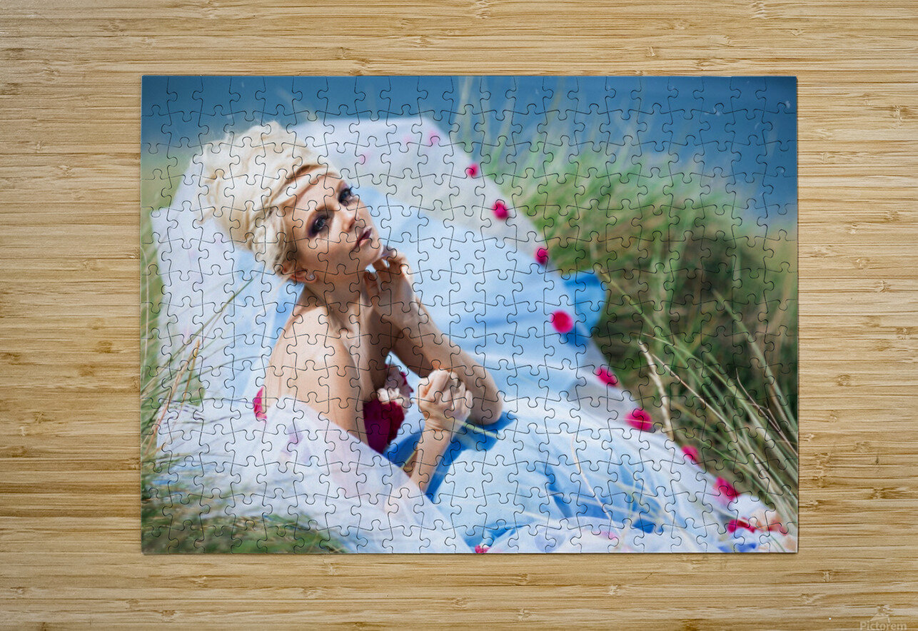 Summer Breeze  HD Metal print with Floating Frame on Back