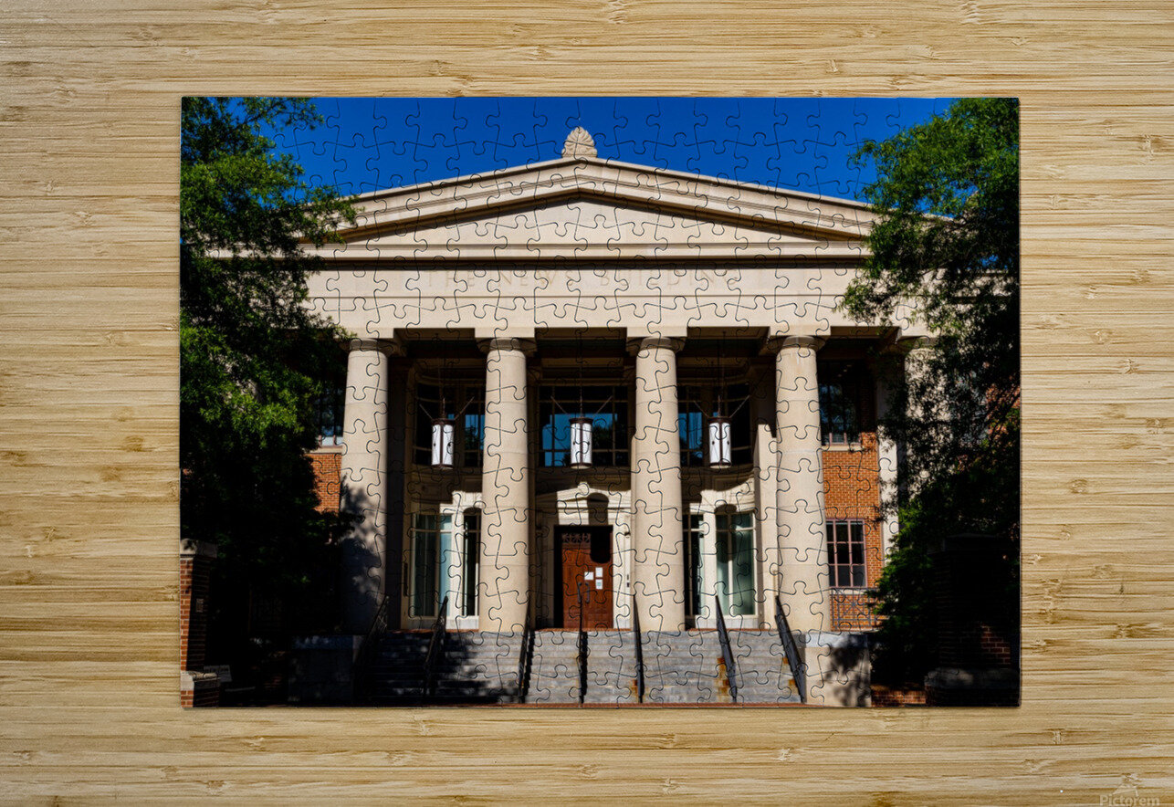 The News Building   Athens GA 07343  HD Metal print with Floating Frame on Back