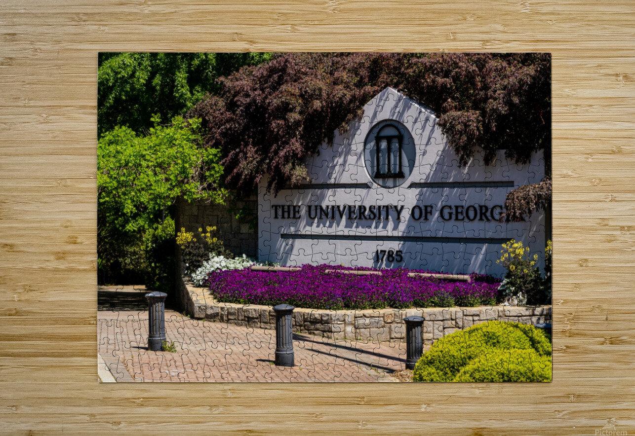 University of Georgia   Athens GA 07074  HD Metal print with Floating Frame on Back