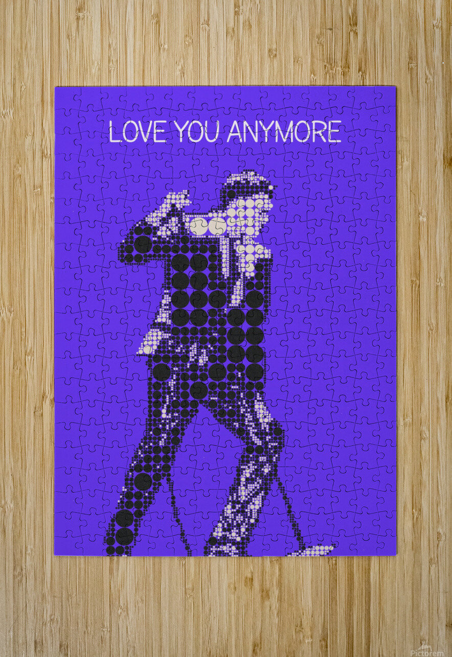 Love You Anymore   Michael Buble  HD Metal print with Floating Frame on Back