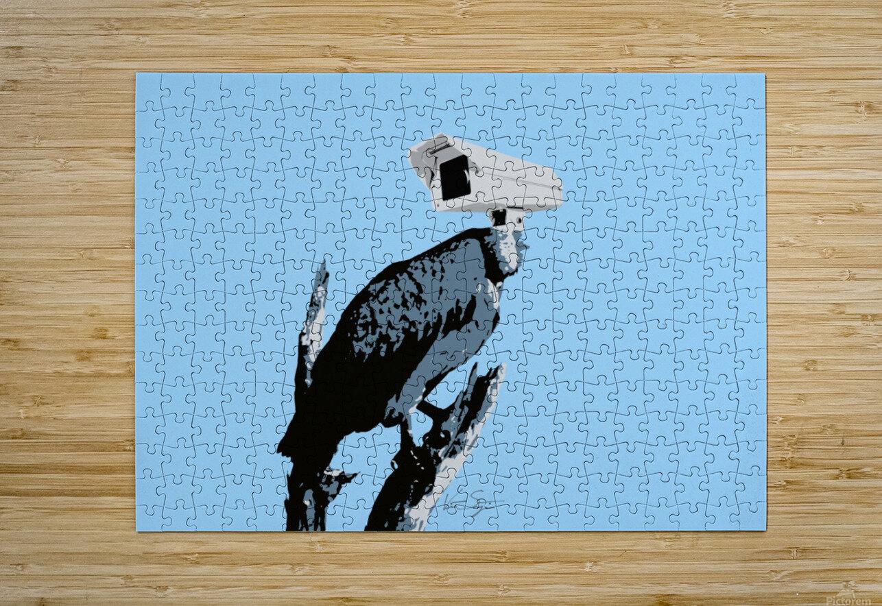 Vultures  HD Metal print with Floating Frame on Back