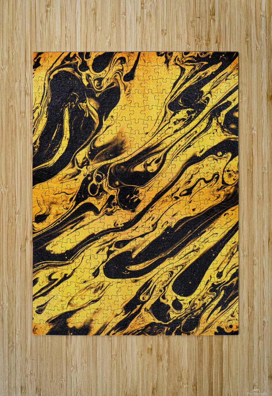 Marble XXXVI  HD Metal print with Floating Frame on Back