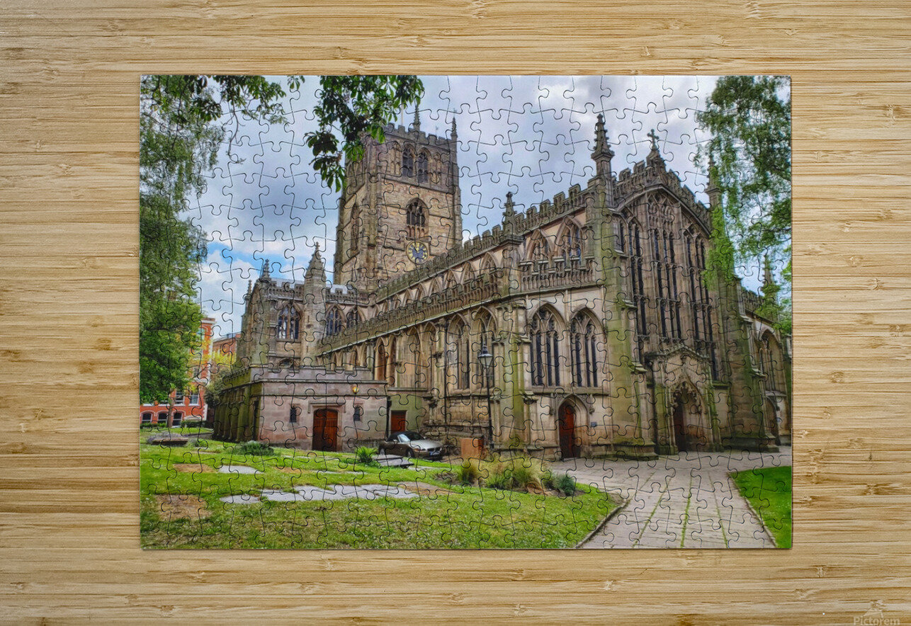 Church of St Mary the Virgin   HD Metal print with Floating Frame on Back
