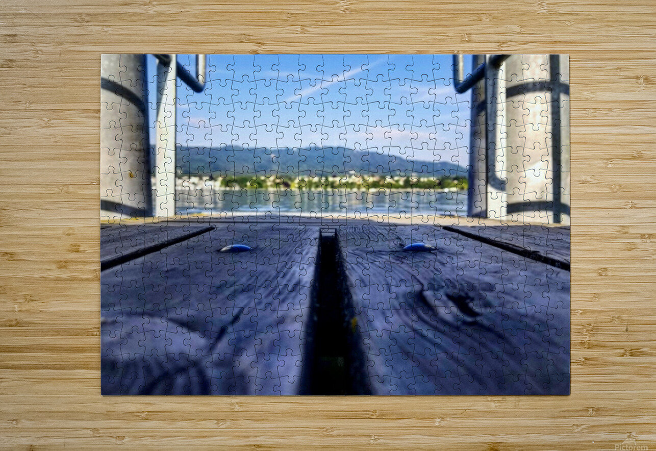 Zurich   HD Metal print with Floating Frame on Back