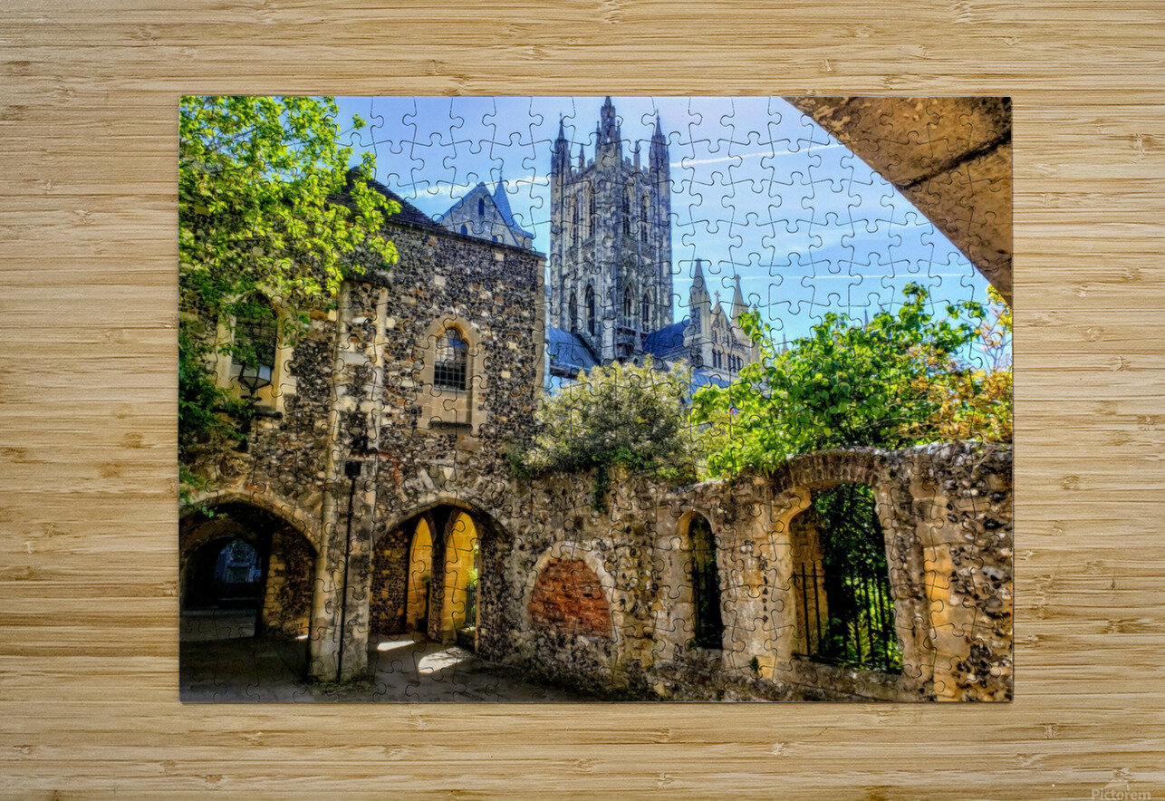 Canterbury Cathedral   HD Metal print with Floating Frame on Back
