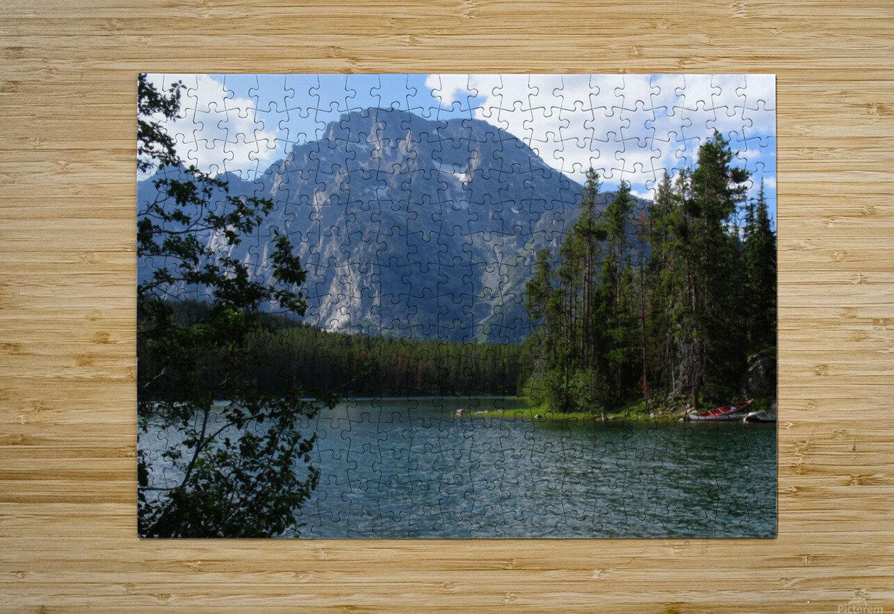 Boulder Island Respite 1  HD Metal print with Floating Frame on Back