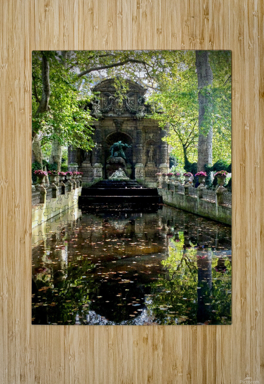 Medicis 3   1  HD Metal print with Floating Frame on Back