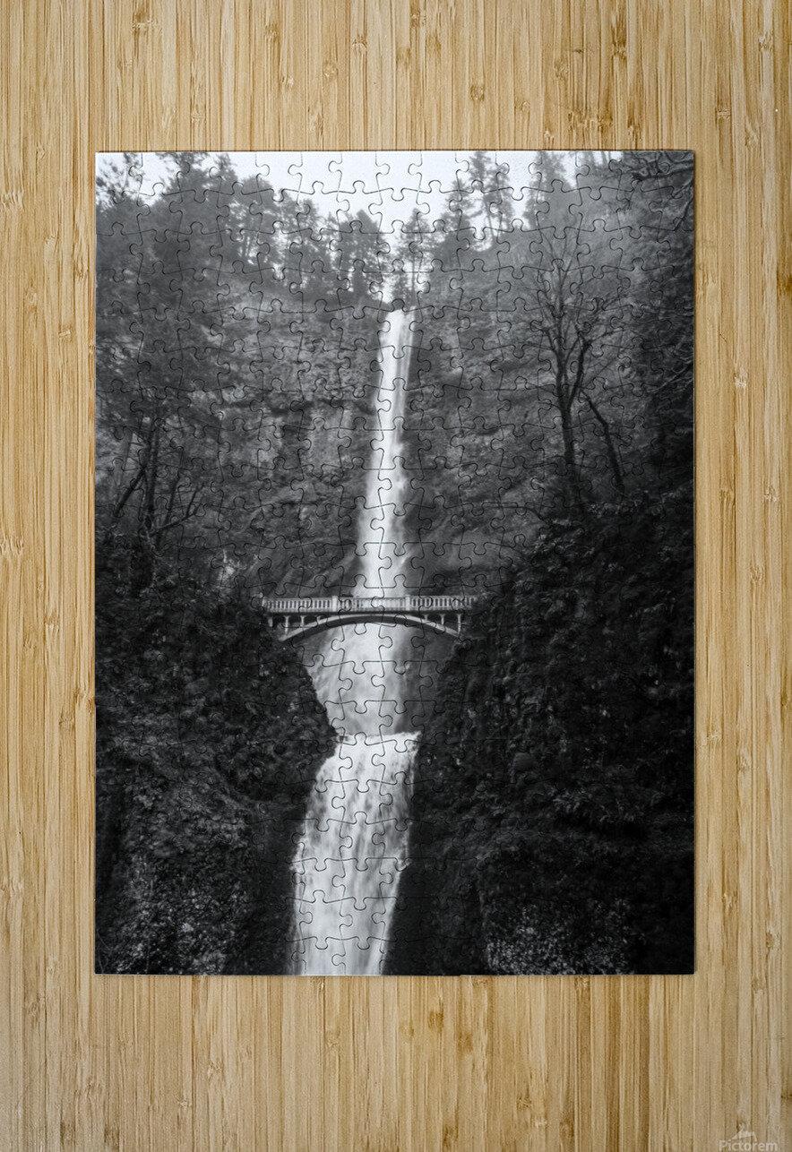 Multnomah  HD Metal print with Floating Frame on Back