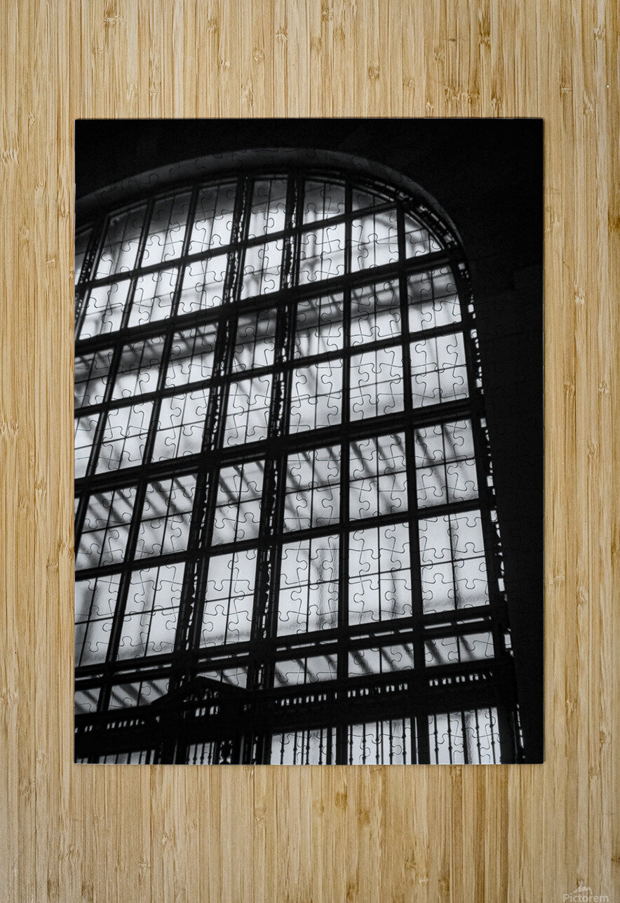 Between Dimensions  HD Metal print with Floating Frame on Back