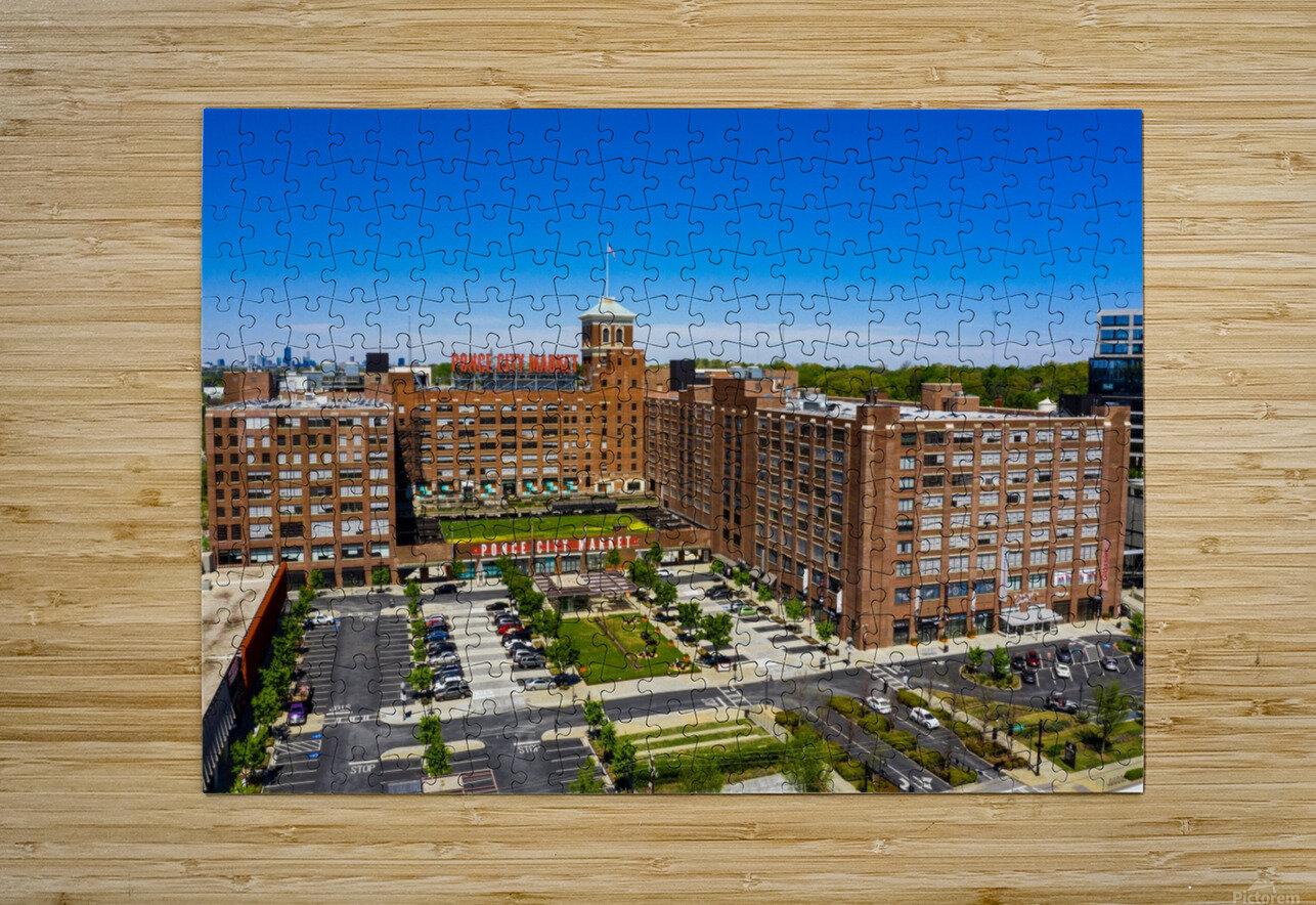 Ponce City Market   Atlanta GA 0622  HD Metal print with Floating Frame on Back