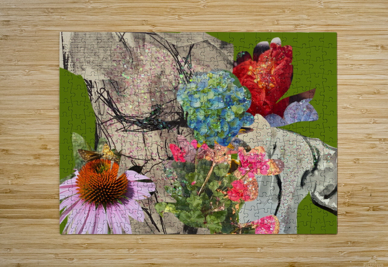 flowersandflex  HD Metal print with Floating Frame on Back