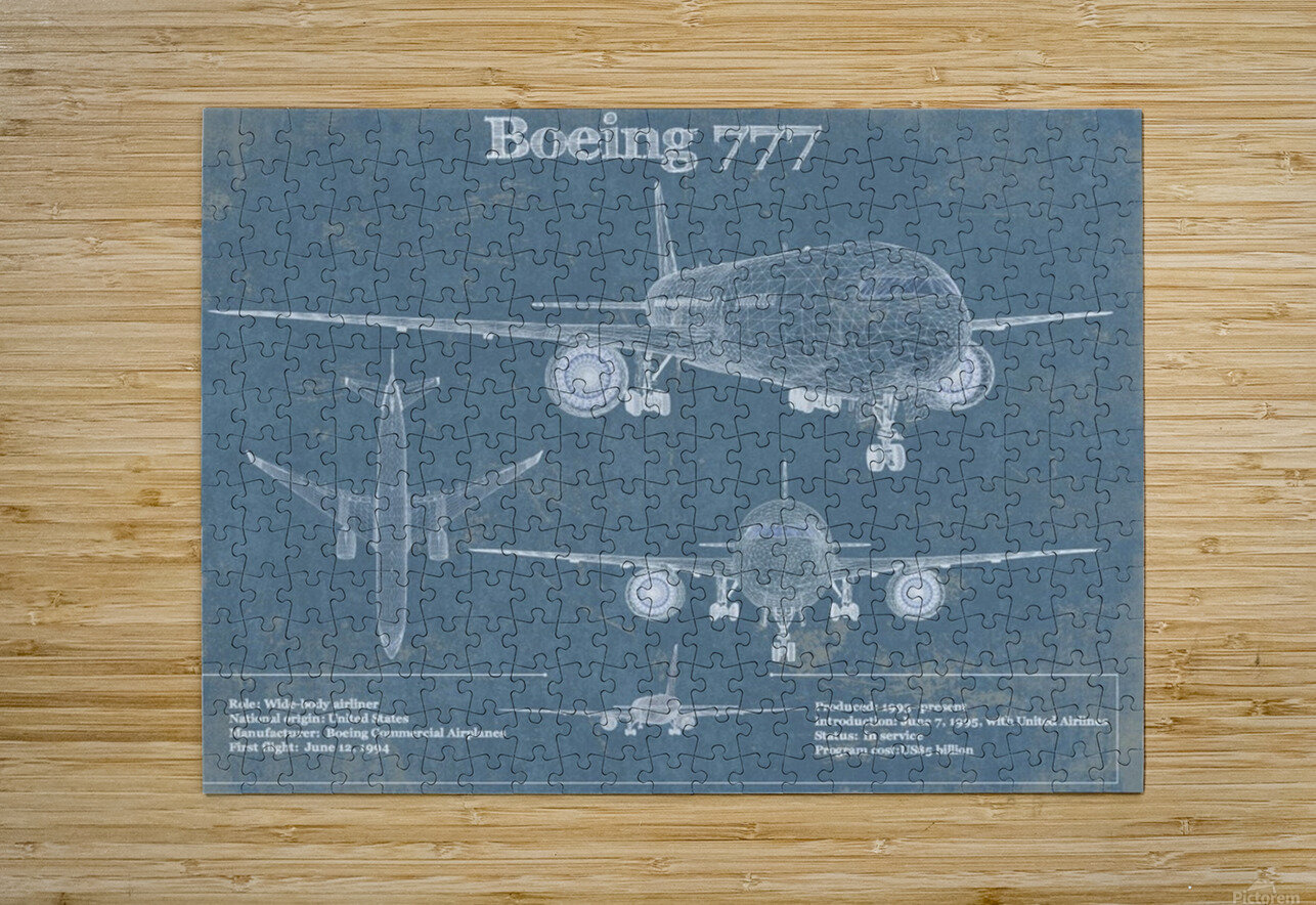 777  HD Metal print with Floating Frame on Back
