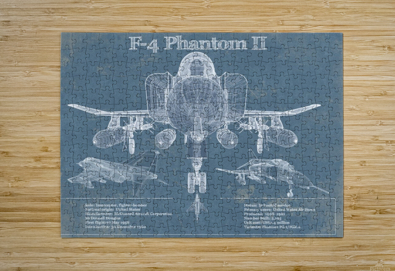 phantom  HD Metal print with Floating Frame on Back