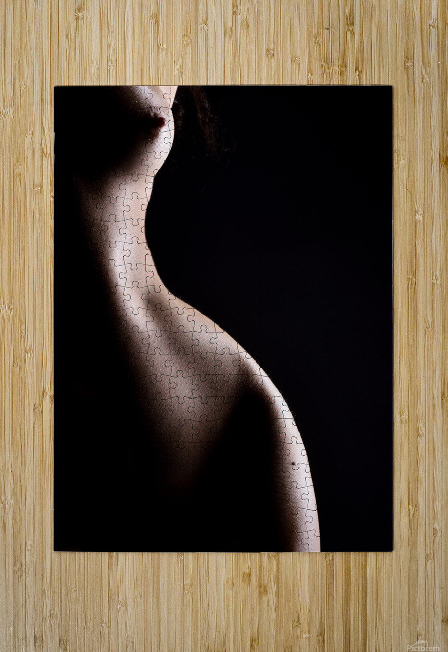 Nude_woman_sexy_fine_art_naked_07  HD Metal print with Floating Frame on Back