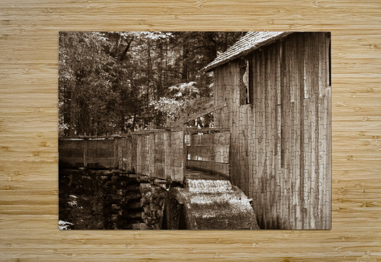 The John Cable Grist Mill  HD Metal print with Floating Frame on Back