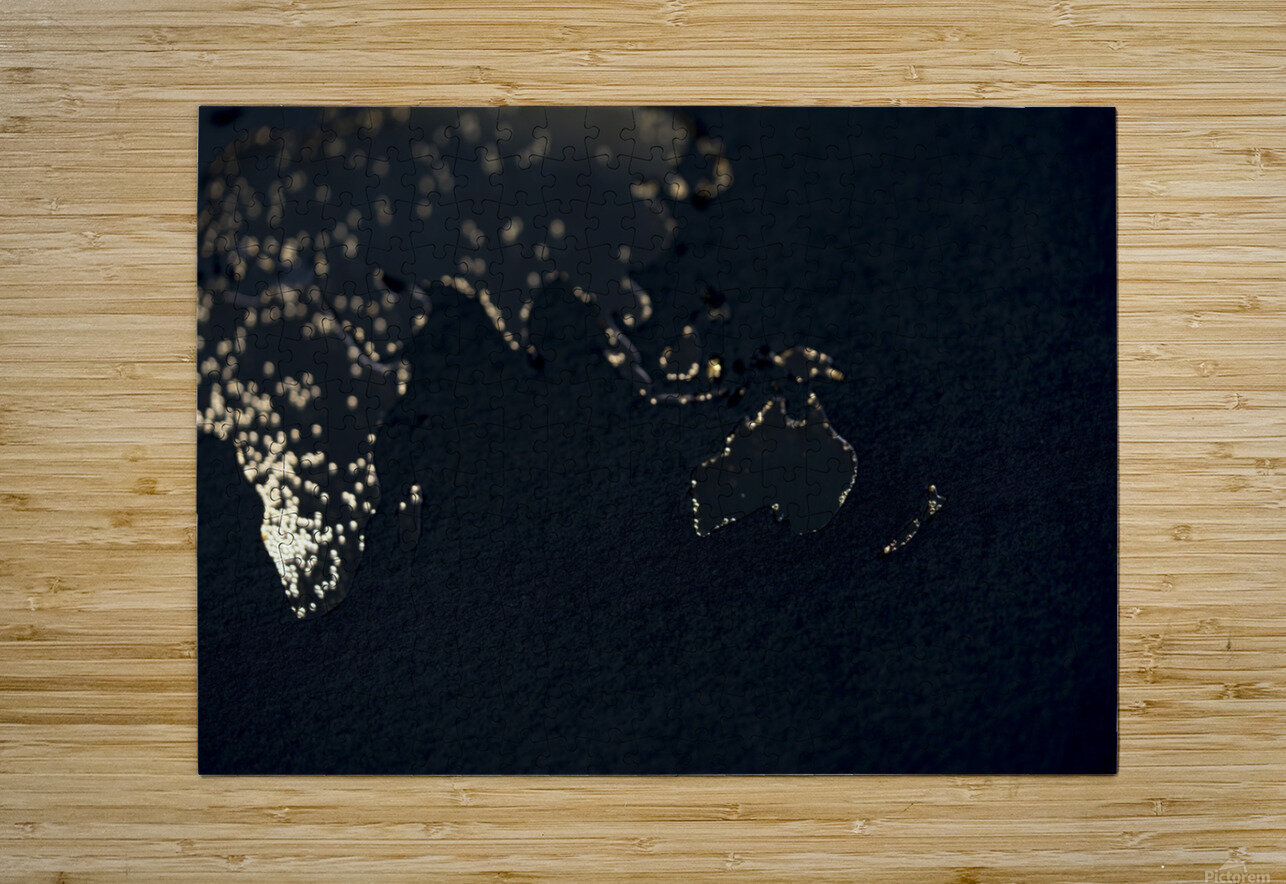 Dark Continent Erkon  HD Metal print with Floating Frame on Back