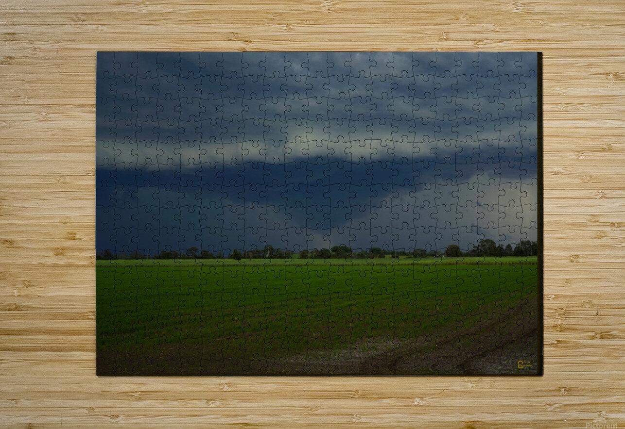 coraki storm  HD Metal print with Floating Frame on Back