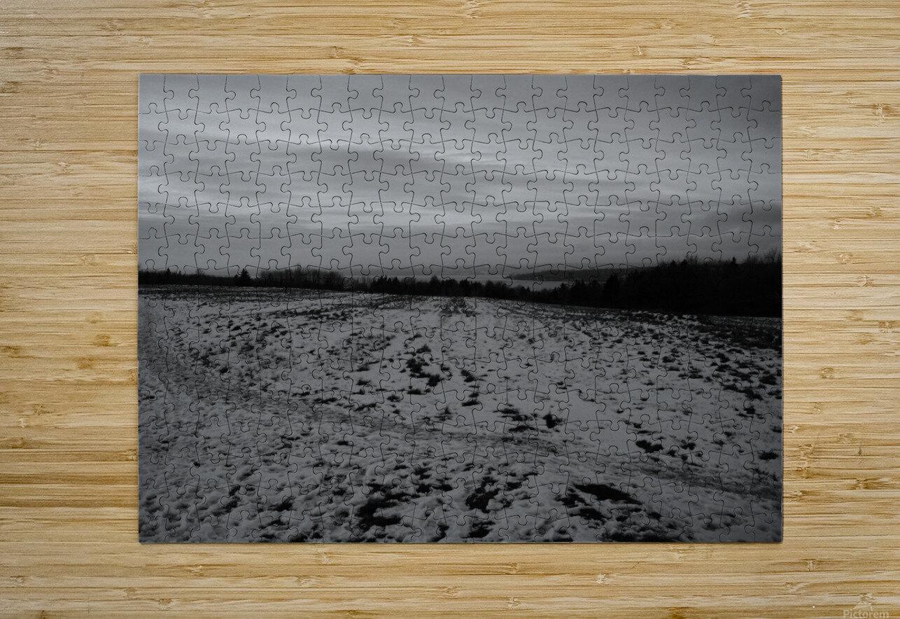 Mi-saison  Impression métal HD avec cadre flottant sur le dos
