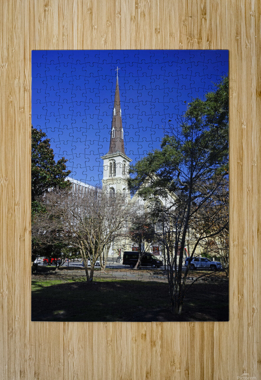 Snapshot in Time Charleston 2 of 5  HD Metal print with Floating Frame on Back