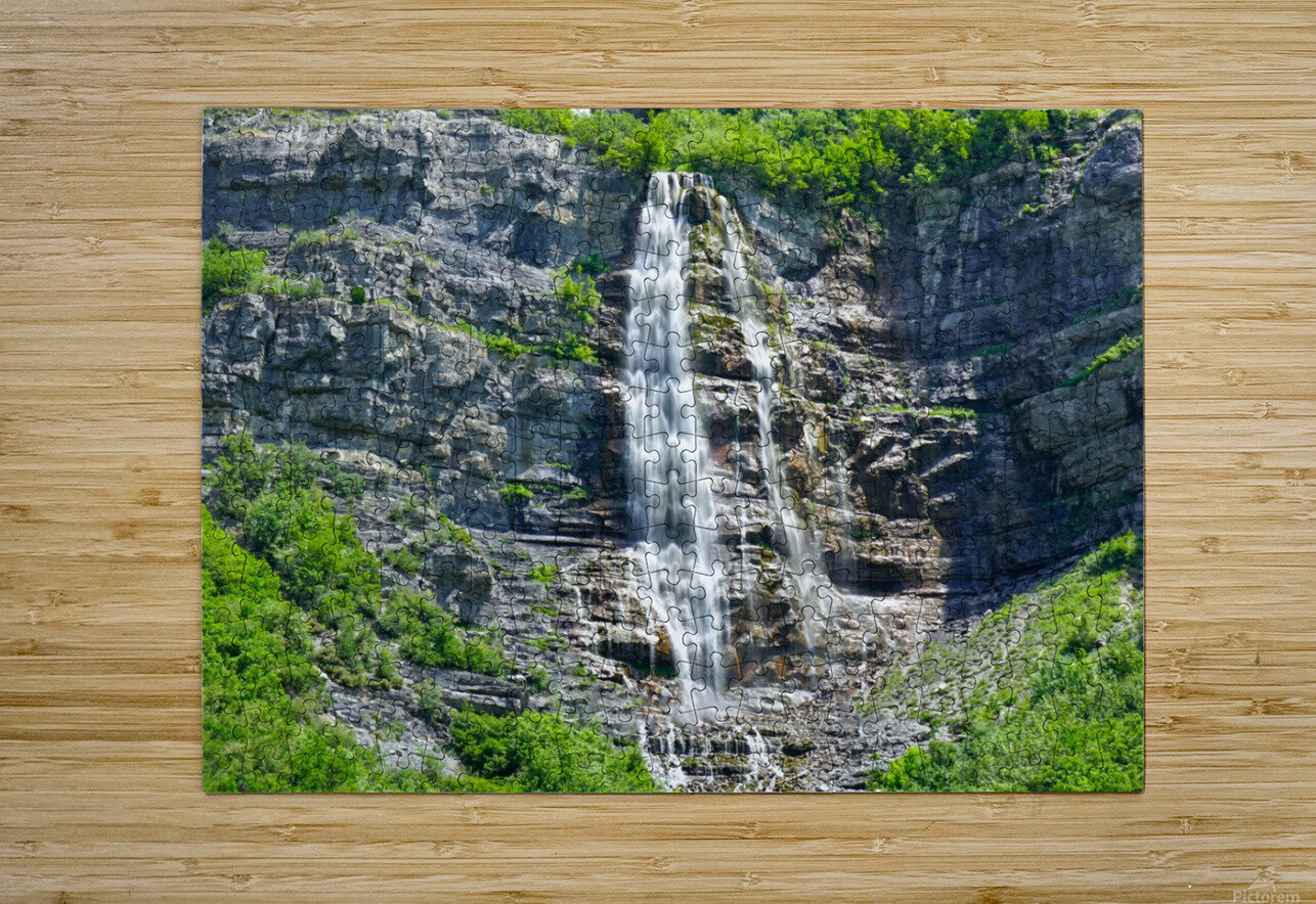 Scenic Utah @ Park City  HD Metal print with Floating Frame on Back