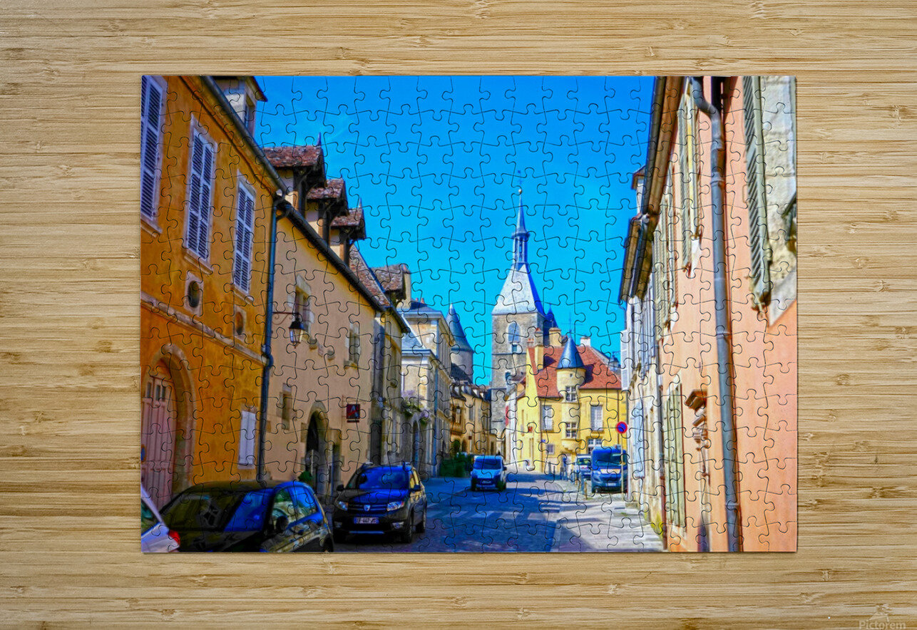 Secret Avallon 1 of 6  HD Metal print with Floating Frame on Back