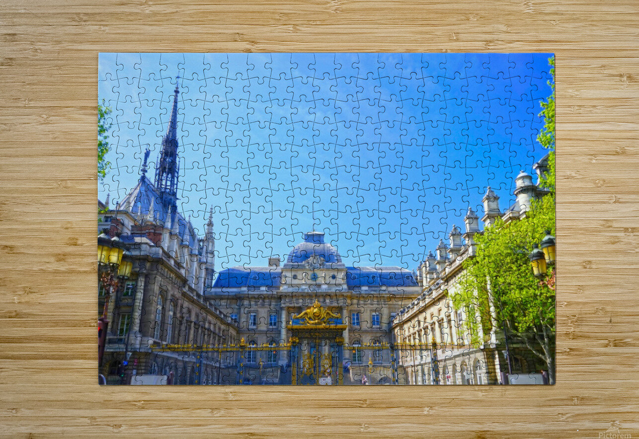 Paris Snapshot in Time 4 of 8  HD Metal print with Floating Frame on Back