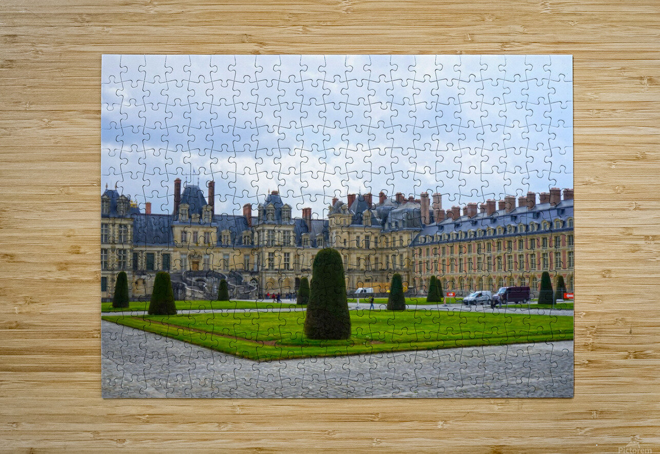 Chateaus of France 3  HD Metal print with Floating Frame on Back