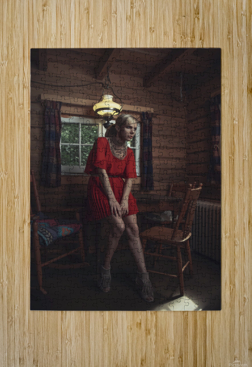 Chic Shack VI  HD Metal print with Floating Frame on Back